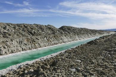 Calcium Chloride Canal #4