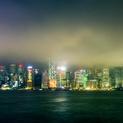 Victoria Harbour at Night Hong Kong