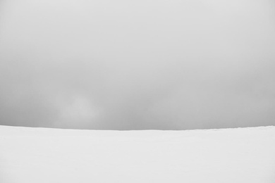 Winter Abstract Minimalism