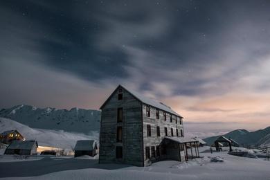 Pastel Skies at Bunkhouse No. 1