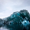 Flipped Iceberg in Antarctica 4