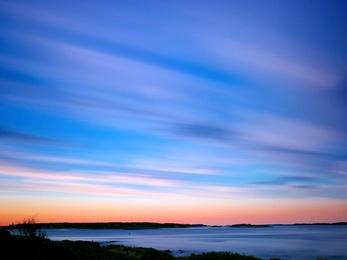 Sunset, Peaks Island