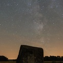 The Erratic Boulder and the Milky Way