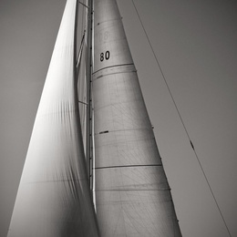 Sail Abstract V, Cote D'Azur