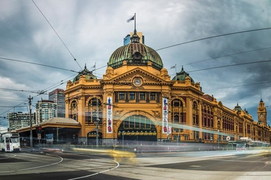 Melbourne's Iconic Station