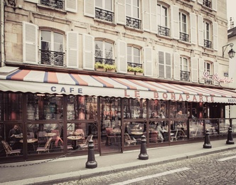 Cafe Le Bonaparte Intimate - Paris