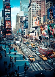 Times Square Chaos, New York City