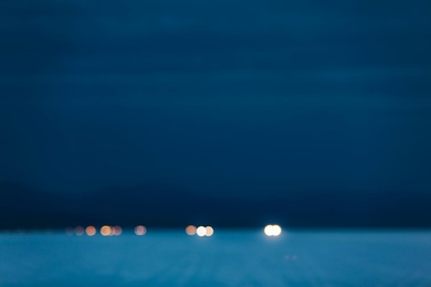 Headlights at Dawn
