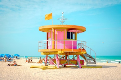 10th Street Lifeguard Tower