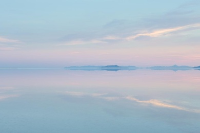 Salt Flats at Dawn