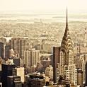 Chrysler Building and New York City Skyline