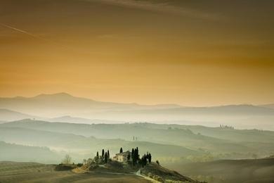 Sunrise, Tuscany