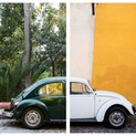 Punch Buggy #4 - Diptych Facemount