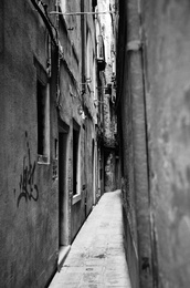 Walkway, Venice, Italy