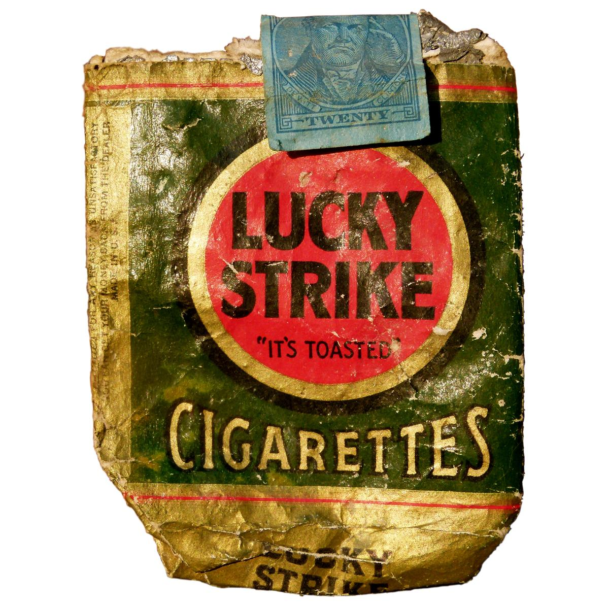 Lucky Strike Cigarettes - Brad Beyer