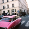 Pink Car - Paris, France