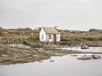 Connemara Fishing Hut Study 1 - Co, Galway