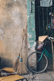Brooms With Bike