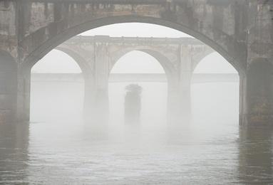 Misty Morning on the Susquehanna #1