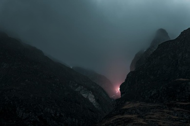 Luminous Signals (Into the Mountains) - II