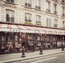 Cafe Le Bonaparte Intimate - Paris