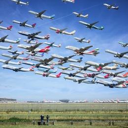 London Heathrow 27L (Planespotting)