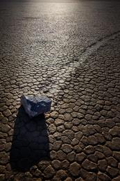 Moving Rock Left Turn - Race Track