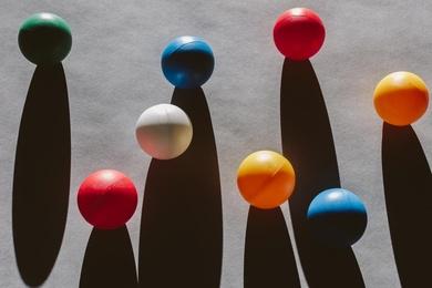 Bocce Balls #7