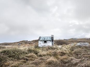 Connemara Fishing Hut Study 2 - Co. Galway