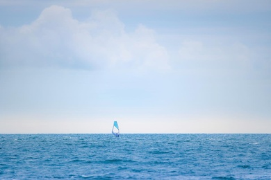 The Surfer and the Sea