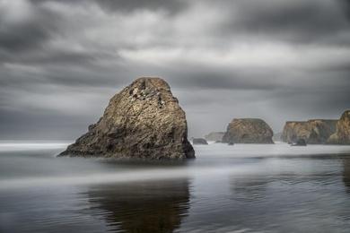 Seaside Creek Rock Study 2 - Mendocino