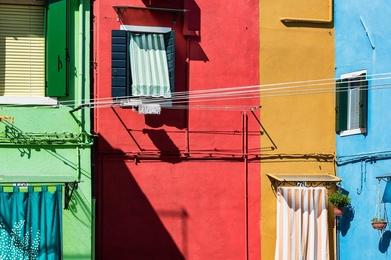 Venetian Fishing Village of Burano, Italy