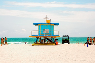 Lincoln Road Lifeguard Tower