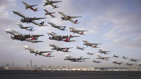Dubai International 12R (Morning Heavy Departures)