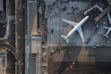 Delta A330, LAX