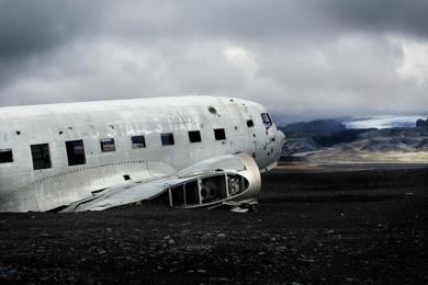 C-47 on Solheimasandur
