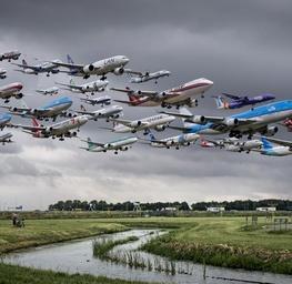 Amsterdam Schiphol 18R (Polderbaan)
