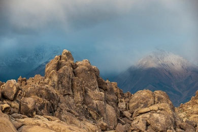 Last Light on the White Mountains #2