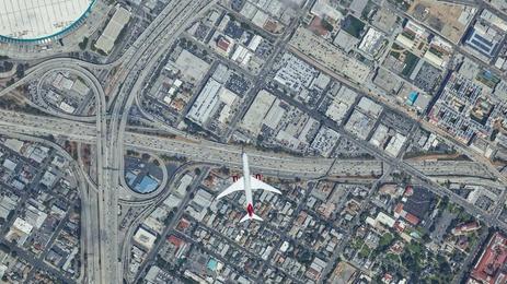 Virgin Atlantic en Route - Los Angeles