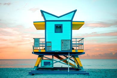 21st Street Lifeguard Tower No. 4