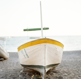 Boat on the Beach, Positano, Italy 2011