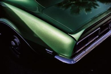 Green Camaro