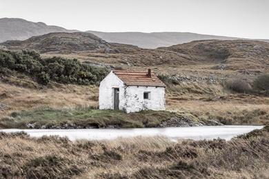 Connemara Fishing Hut Study 5 - Co. Galway