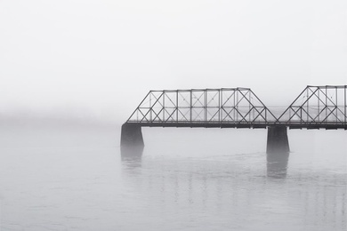 Misty Morning on the Susquehanna #2