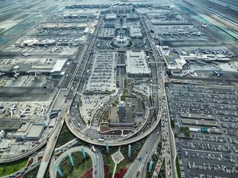 Departures Above, Arrivals Below - LAX