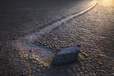 Moving Rock  - Race Track