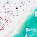 South Beach Aerial, Swimming