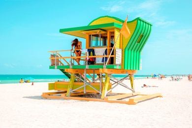 4th Street Lifeguard Tower