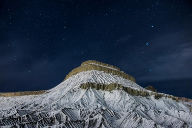 Snowy Mesa
