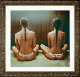 Birth of Twins - Original Framed Work